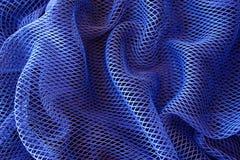Fond net bleu photographie stock