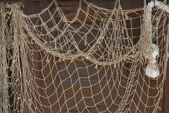 Fond net de pêche Image stock