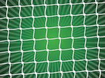 Fond net du football Image stock