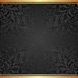 Fond noir Images stock