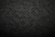 Fond noir abstrait de tuile en métal illustration de vecteur