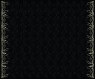 Fond noir argenté Image stock