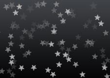 Fond noir d'étoile illustration libre de droits