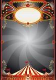 Fond noir de cirque illustration stock