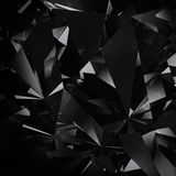 Fond noir de diamant illustration stock