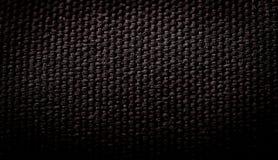 Fond noir de fibre Photos stock