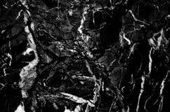 Fond noir de marbre en pierre Image stock