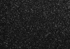 Fond noir de scintillement Image stock