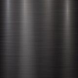 Fond noir de technologie en métal Photo libre de droits