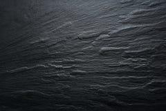 Fond noir de texture d'ardoise - pierre - texture grunge Photographie stock libre de droits