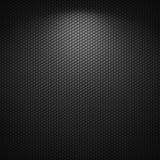 Fond noir de texture de modèle de cercle Photographie stock libre de droits