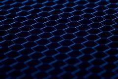 Fond noir de texture de modèle de cercle Images libres de droits
