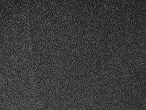 Fond noir de texture de papier à l'émeri Photo stock
