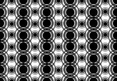 Fond noir et blanc Image libre de droits