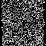 Fond noir et blanc Photo libre de droits
