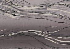 Fond noir et blanc abstrait illustration stock