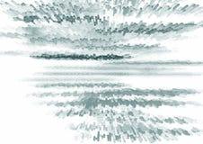 Fond noir et blanc abstrait de l'illustrtion 3d pour la conception Photo stock