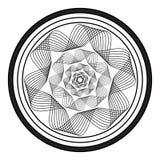 Fond noir et blanc abstrait EPS10 illustration de vecteur