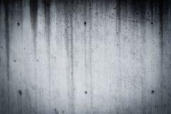 Fond noir et blanc avec la lumière noire d'accent à la frontière Photo stock
