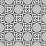 Fond noir et blanc clair géométrique décoratif sans couture abstrait de modèle photo libre de droits