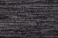 Fond noir et blanc de matériel de textile mou Tissu avec la texture naturelle Images libres de droits