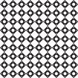 Fond noir et blanc de modèle de triangle Image stock