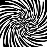 Fond noir et blanc de remous Images stock