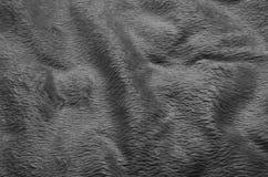 Fond noir et blanc de tapis de tissu Photos stock