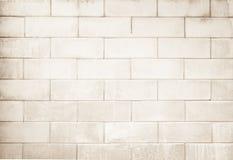 Fond noir et blanc de texture de mur de briques Photos libres de droits
