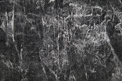 Fond noir et blanc de texture de polyester de coton d'agent de blanchiment Photos libres de droits