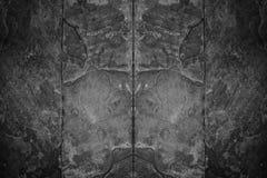 Fond noir et blanc de texture de mur en pierre Photographie stock libre de droits