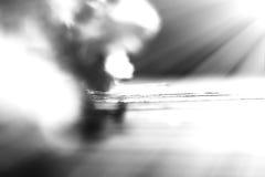 Fond noir et blanc diagonal de bokeh de banc photographie stock