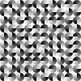 Fond noir et blanc géométrique abstrait Photos stock