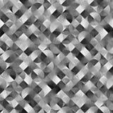 Fond noir et blanc géométrique abstrait Image libre de droits