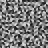 Fond noir et blanc géométrique abstrait Images libres de droits