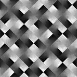 Fond noir et blanc géométrique abstrait Photo libre de droits