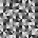 Fond noir et blanc géométrique abstrait Photos libres de droits