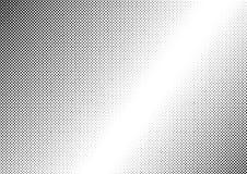 Fond noir et blanc pointillé par résumé Images stock