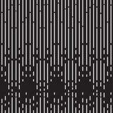 Fond noir et blanc tramé de modèle Photographie stock libre de droits