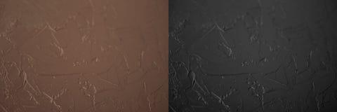 Fond noir et brun structure en pierre de conseil brun sale et fond noir illustration de vecteur