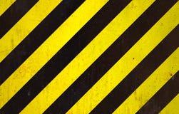 Fond noir et jaune Images libres de droits