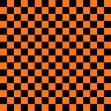 Fond noir et orange abstrait de place de couleur pour le thème de Halloween Photo stock