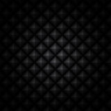 Fond noir facetté Images stock