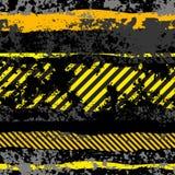 Fond noir grunge Photos libres de droits