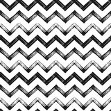 Fond noir grunge de modèle de chevron de zigzag Photos stock