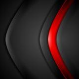 Fond noir rouge d'abrégé sur contraste illustration de vecteur