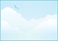 fond nuageux images stock