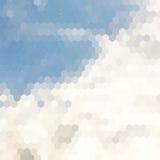 Fond nuageux de la poussière Photo libre de droits