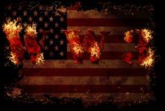 Fond nucléaire de la guerre mondiale 3 Images libres de droits