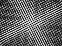 Fond numérique abstrait avec le modèle inverti de perspective illustration de vecteur